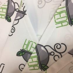 Сублимационная печать на скатерти любого логотипа в СПБ