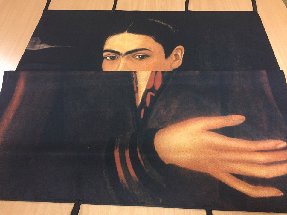 Сублимационная печать фотофона на ткани габардин для оформления сцены