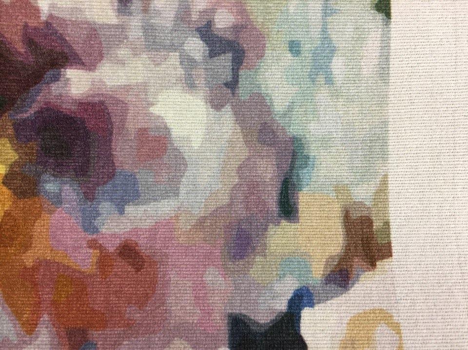 Сублимационная печать на ткани мебельный микровелюр