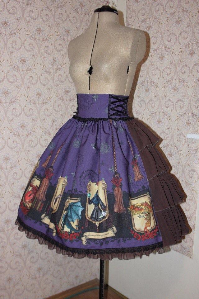 Джинсовая юбка своими руками выкройки 8